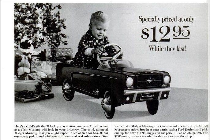 1964 xmas mustang mini car3.jpg