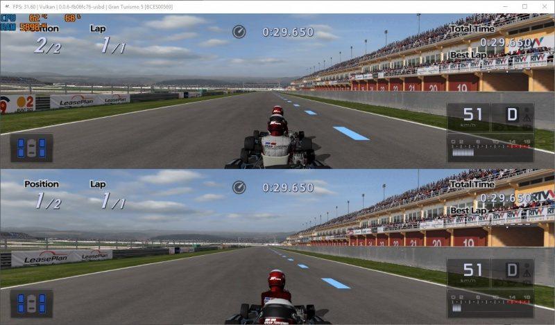 2019-07-20 22_44_42-FPS_ 31.60 _ Vulkan _ 0.0.6-fb06fc76-usbd _ Gran Turismo 5 [BCES00569].jpg