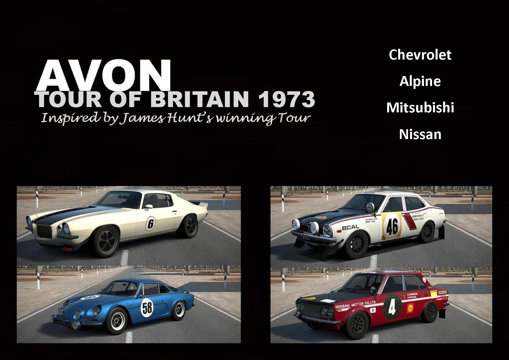 Avon Tour cars Final Poster.jpg