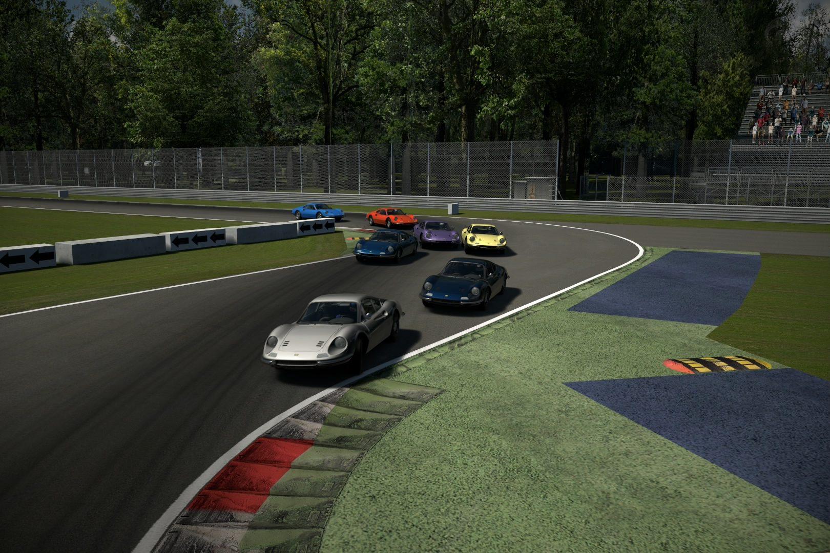 Dino 1st Chicane Race 1.jpg