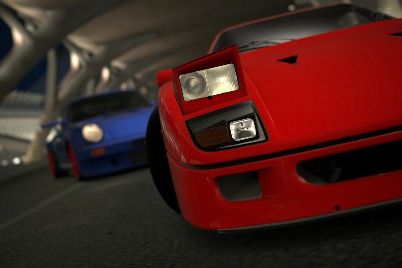 Ferrari, but RUF is behind.....jpg