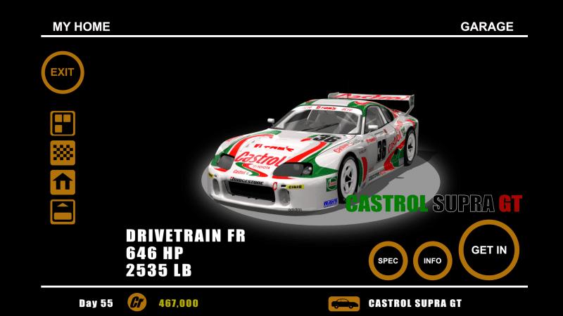 Gran Turismo 1 Menu Remake - Home Garage.png