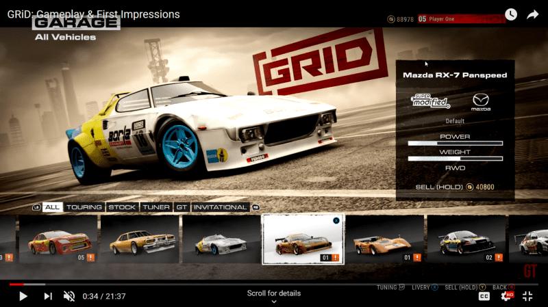 GRID 2019 - Lancia Stratos - garage menu.png