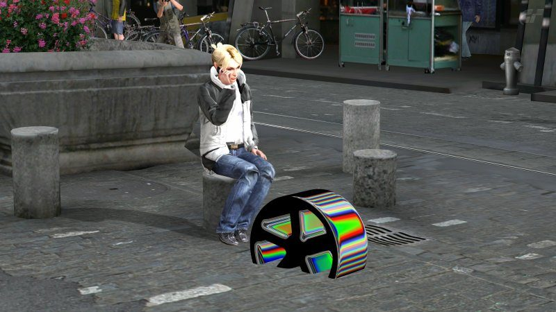 GT INVISIBLE CAR Wheel Color Sample (5727cc) Glitch At Bern Market Street.jpg