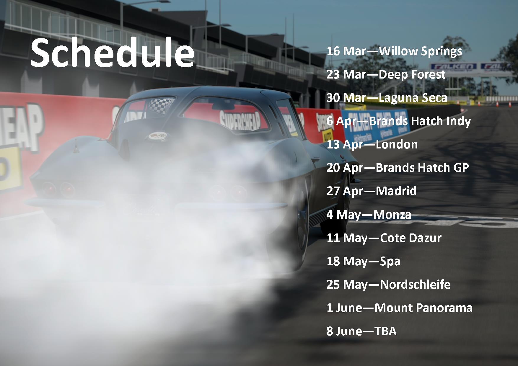 GT6 Classic Schedule.jpg