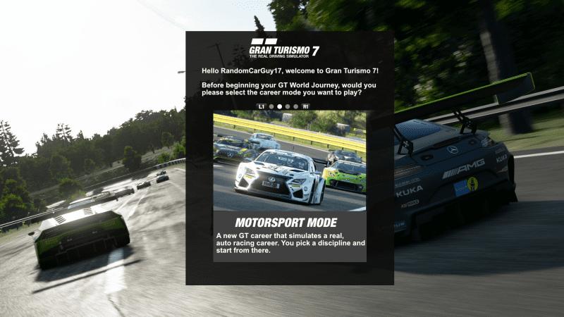 GT7 - Career Mode Selection V3 - Motorsport Mode.png
