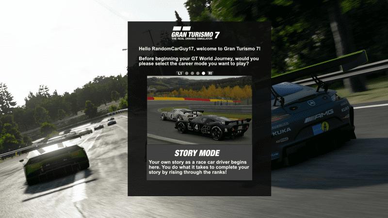 GT7 - Career Mode Selection V3 - Story Mode.png