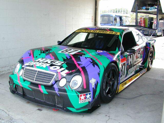 HKS Merc CLK GT500.jpg