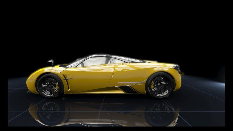 Huayra Yellow Racing.jpeg