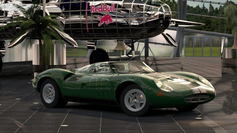 Jaguar XJ13 Race Car Chrome Line.jpg