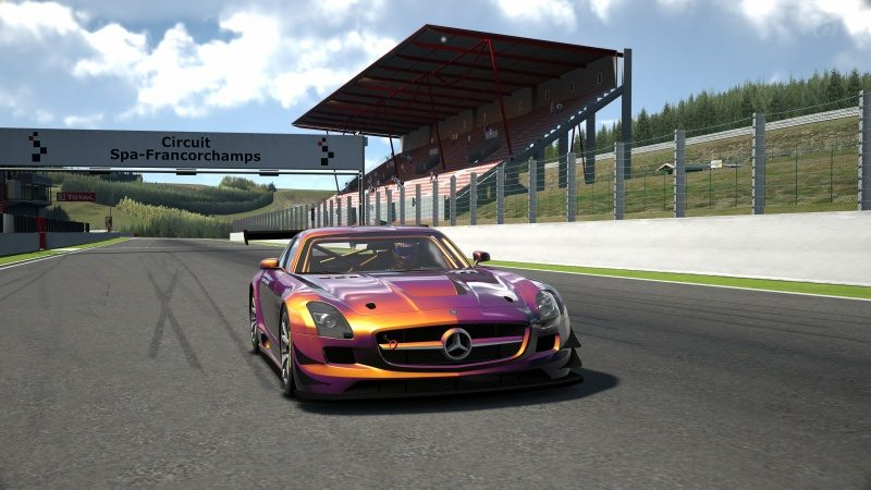 Mercedes-Benz SLS AMG GT3 '11 Tuned With Custom Paint-At Circuit de Spa Francorchamps 1.jpg