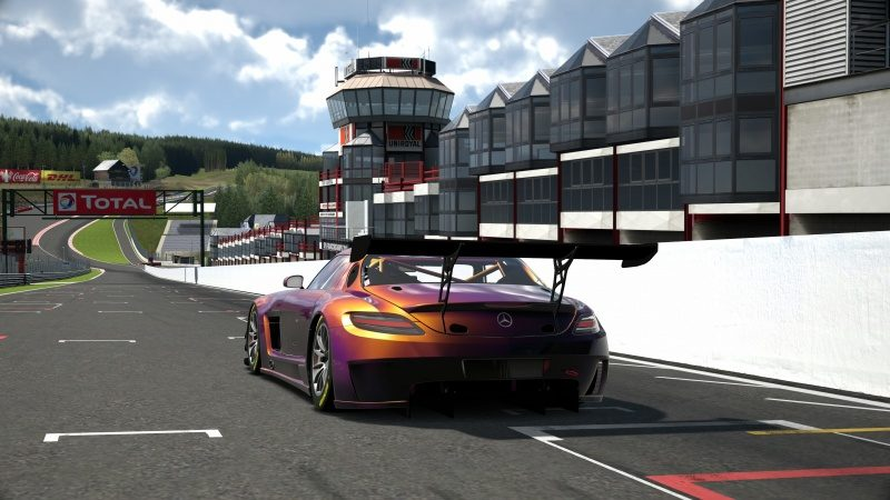 Mercedes-Benz SLS AMG GT3 '11 Tuned With Custom Paint-At Circuit de Spa Francorchamps 10.jpg