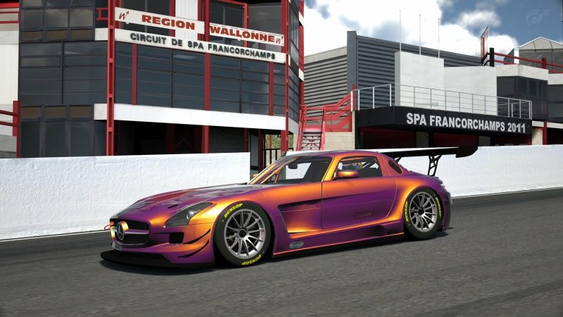 Mercedes-Benz SLS AMG GT3 '11 Tuned With Custom Paint-At Circuit de Spa Francorchamps 11.jpg