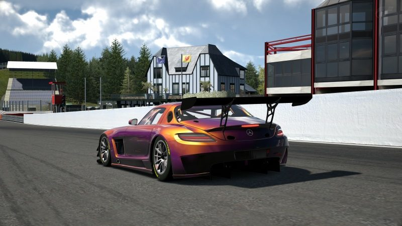 Mercedes-Benz SLS AMG GT3 '11 Tuned With Custom Paint-At Circuit de Spa Francorchamps 12.jpg