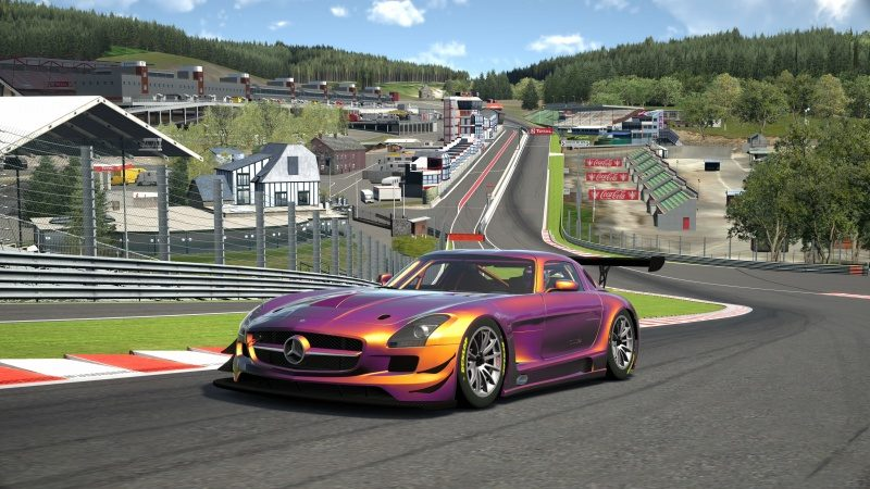 Mercedes-Benz SLS AMG GT3 '11 Tuned With Custom Paint-At Circuit de Spa Francorchamps 13.jpg