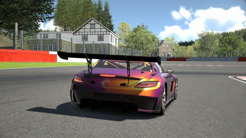 Mercedes-Benz SLS AMG GT3 '11 Tuned With Custom Paint-At Circuit de Spa Francorchamps 2.jpg
