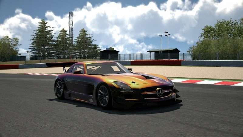 Mercedes-Benz SLS AMG GT3 '11 Tuned With Custom Paint-At Circuit de Spa Francorchamps 21.jpg