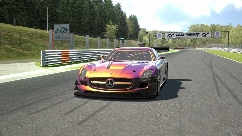 Mercedes-Benz SLS AMG GT3 '11 Tuned With Custom Paint-At Circuit de Spa Francorchamps 27.jpg