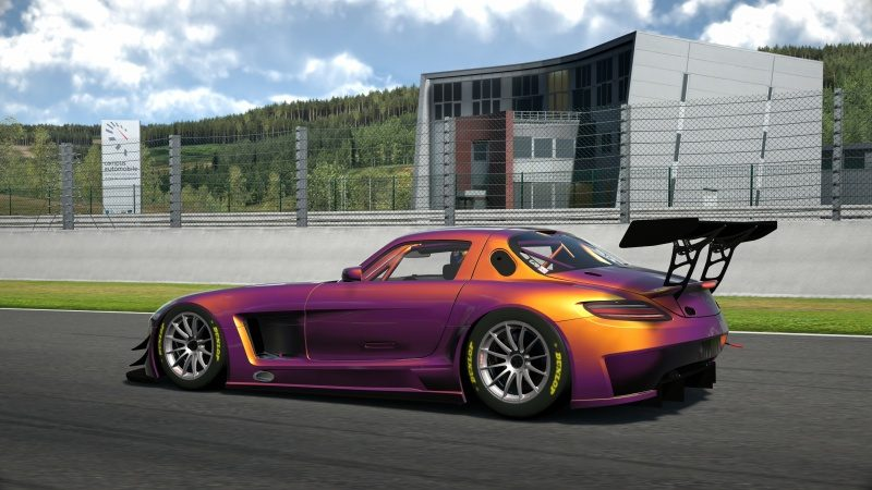 Mercedes-Benz SLS AMG GT3 '11 Tuned With Custom Paint-At Circuit de Spa Francorchamps 36.jpg