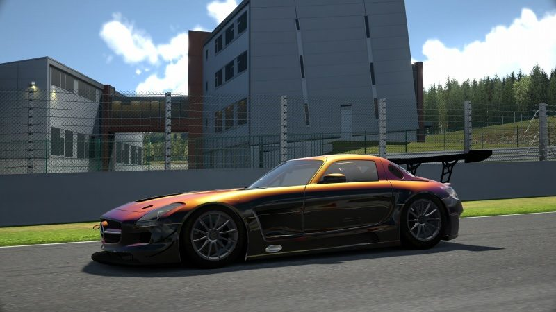 Mercedes-Benz SLS AMG GT3 '11 Tuned With Custom Paint-At Circuit de Spa Francorchamps 37.jpg