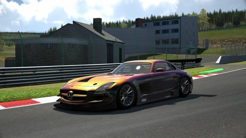 Mercedes-Benz SLS AMG GT3 '11 Tuned With Custom Paint-At Circuit de Spa Francorchamps 39.jpg