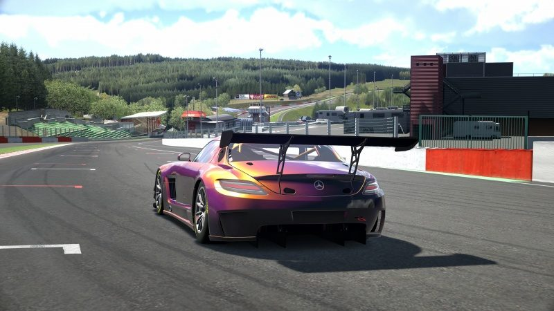Mercedes-Benz SLS AMG GT3 '11 Tuned With Custom Paint-At Circuit de Spa Francorchamps 4.jpg