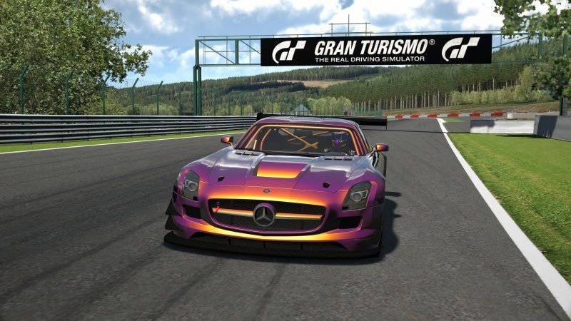 Mercedes-Benz SLS AMG GT3 '11 Tuned With Custom Paint-At Circuit de Spa Francorchamps 45.jpg