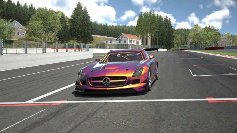 Mercedes-Benz SLS AMG GT3 '11 Tuned With Custom Paint-At Circuit de Spa Francorchamps 5.jpg