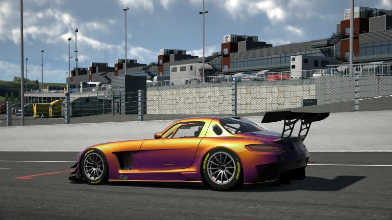 Mercedes-Benz SLS AMG GT3 '11 Tuned With Custom Paint-At Circuit de Spa Francorchamps 6.jpg