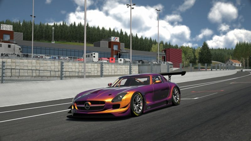 Mercedes-Benz SLS AMG GT3 '11 Tuned With Custom Paint-At Circuit de Spa Francorchamps 7.jpg