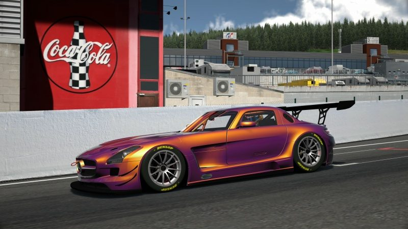 Mercedes-Benz SLS AMG GT3 '11 Tuned With Custom Paint-At Circuit de Spa Francorchamps 9.jpg