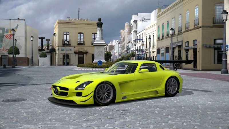 Mercedes-Benz SLS AMG GT3 '11 Tuned With Special Paint-At Ronda.jpg