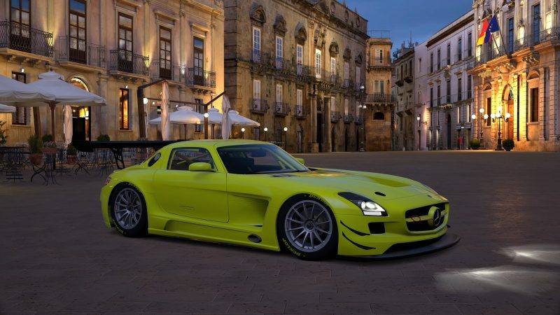 Mercedes-Benz SLS AMG GT3 '11 Tuned With Special Paint-At Syracuse Night.jpg