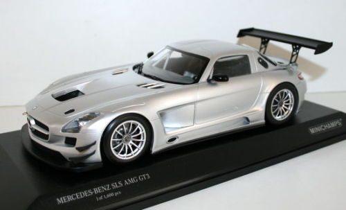 MINICHAMPS Mercedes-Benz SLS AMG GT3 2011 Silver 1.18-2.jpg