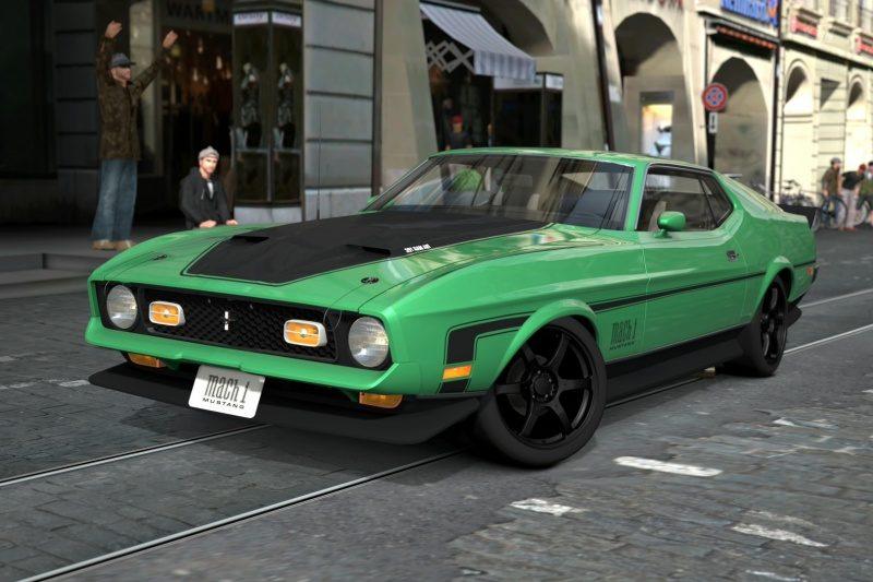 Mustang Mach 1 - Bern Marktgasse.jpg