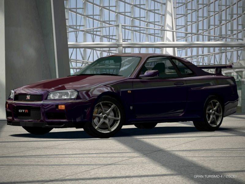 Nissan SKYLINE GT-R Special Color Midnight Purple II (R34) '99.JPG