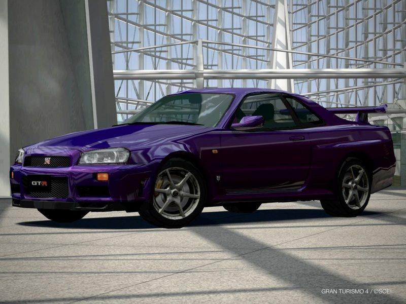 Nissan SKYLINE GT-R Special Color Midnight Purple III (R34) '00.JPG