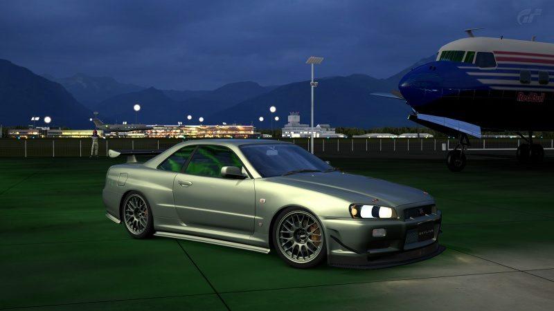 Nissan SKYLINE GT-R V-spec II Nür (R34) '02 Millennium Jade (M) 10.jpg