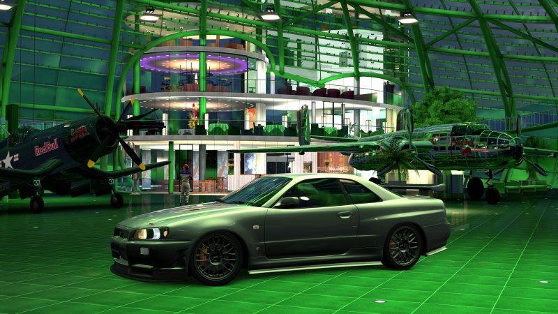 Nissan SKYLINE GT-R V-spec II Nür (R34) '02 Millennium Jade (M) 11.jpg