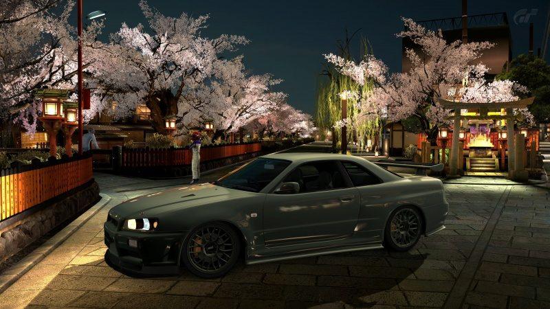 Nissan SKYLINE GT-R V-spec II Nür (R34) '02 Millennium Jade (M) 14.jpg