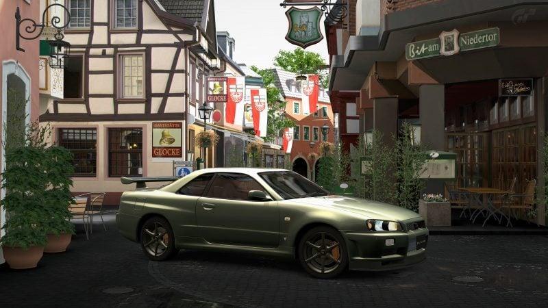 Nissan SKYLINE GT-R V-spec II Nür (R34) '02 Millennium Jade (M) 7.jpg