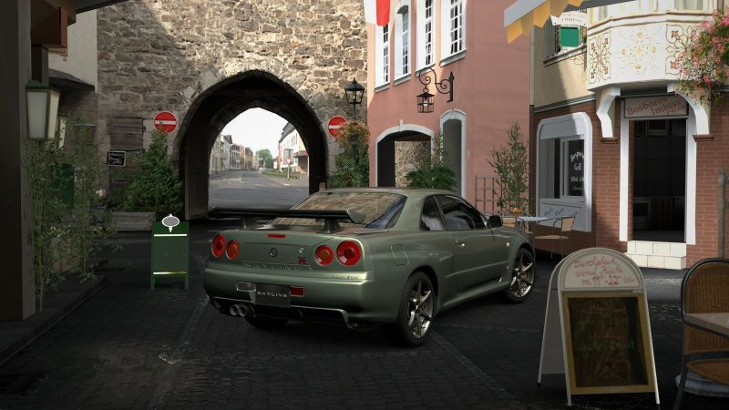 Nissan SKYLINE GT-R V-spec II Nür (R34) '02 Millennium Jade (M) 8.jpg