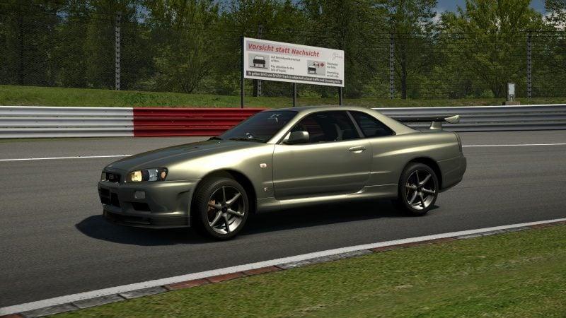Nissan SKYLINE GT-R V-spec II Nür (R34) '02 Millennium Jade (M).jpg