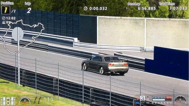 Nissan SKYLINE GT-R V-spec II Nür (R34) '02 Millennium Jade (M) Tuned-Lap Time 6.56.885.JPG