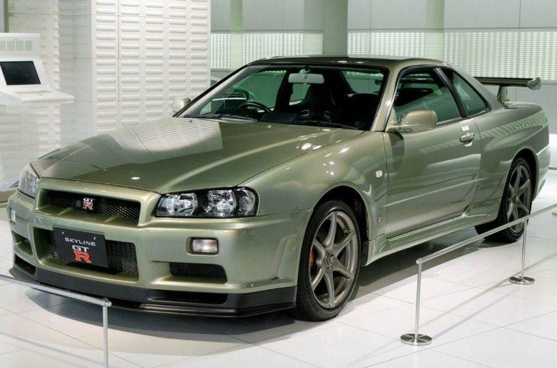 Nissan Skyline GT-R Vspec II Nür (R34) '02 Millennium Jade (M) 1.jpg