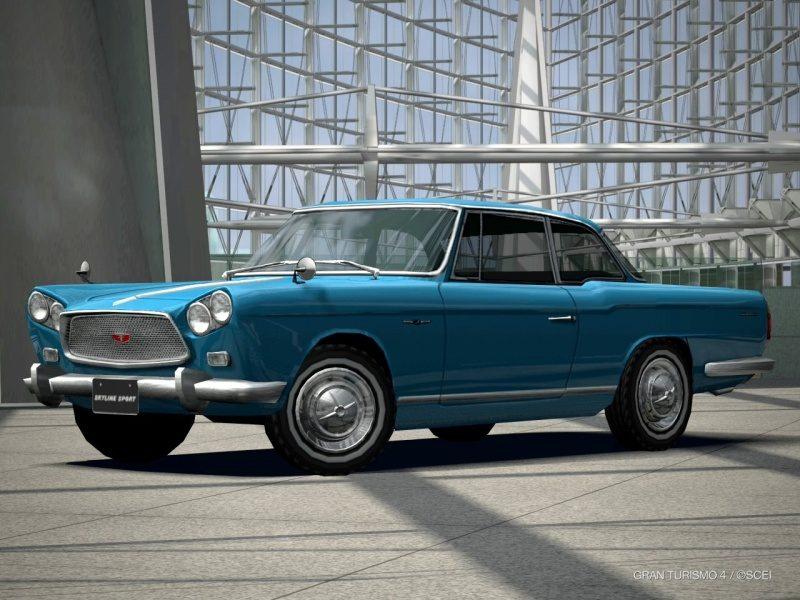 Nissan SKYLINE Sport Coupe (BLRA-3) '62 (Medium White Walls).JPG