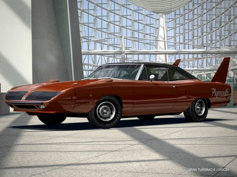 Plymouth Superbird '70 (1 Of 1 Burnt Orange Metallic Root Beer Car).JPG