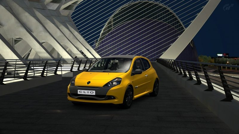 Renault Sport Clio R.S '11 (Prize Car)-At City of Arts and Sciences Night.jpg