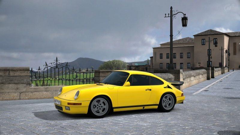 RUF (Porsche) CTR Yellow Bird '87-At Ronda.jpg