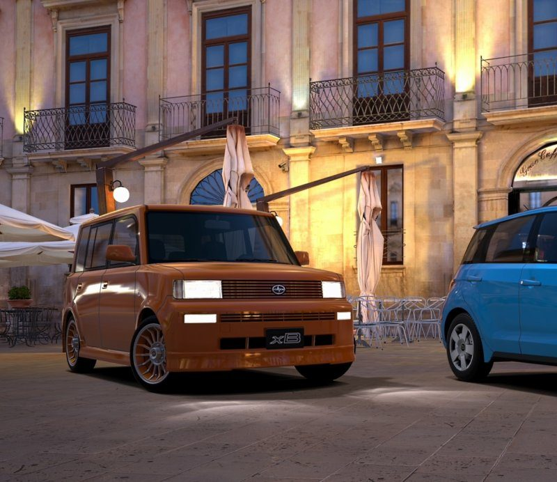 Scion xA and xB (Edited~Close up of xB).jpg